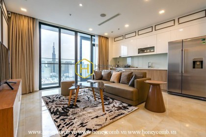 Vinhomes Golden River apartment makes you happy whenever you come back home