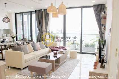 A lot of unexpected emotions at the exquisite beauty of the Vinhomes Golden River apartment