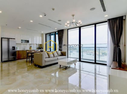 Visit our high-end apartment with international standard in Vinhomes Golden River