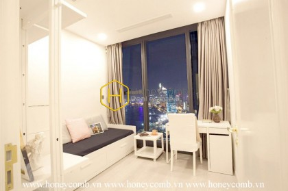 Excellent design with poetic view in Vinhomes Golden River apartment