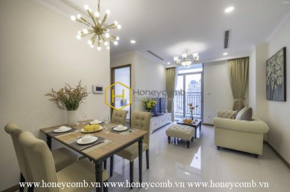 Feel the warmth and modernity in this stunning apartment  in Vinhomes Central Park