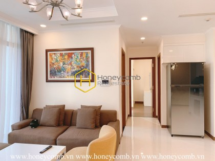Superior Vinhomes Central Park apartment for rent with sharp tone color