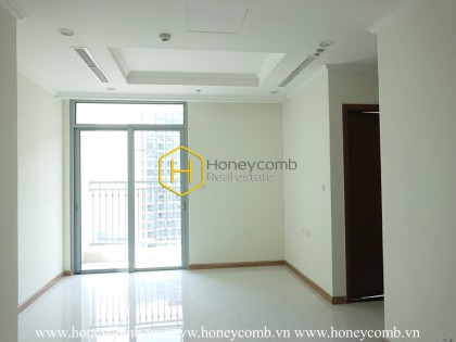 Let's design this gracious unfurnished apartment in Vinhomes Central Park now!
