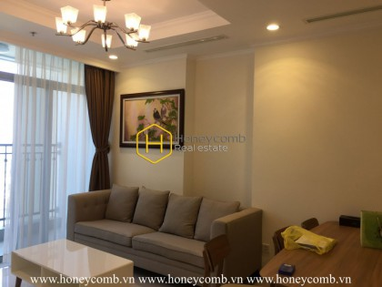 Cannot ignore this charming apartment in Vinhomes Central Park