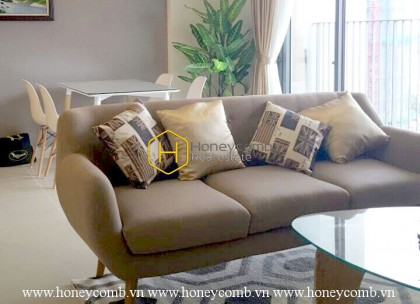 Two bedroom apartment in Masteri Thao Dien with full furniture for rent