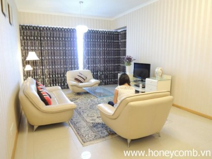 Saigon Pearl apartment for rent, 2 bedrooms, modern style