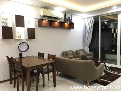 Thao Dien Pearl 2 bedrooms apartment on high floor