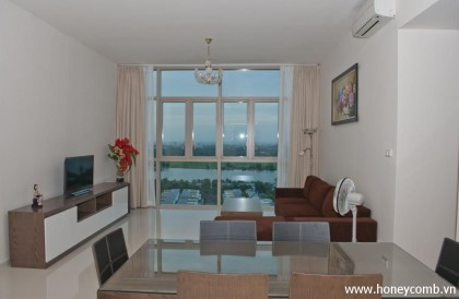 Nice furnished The Vista 3 bedrooms apartment with river