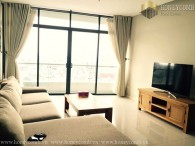 City Garden three beds apartment city view for rent