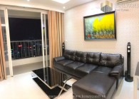 Great! Thao Dien Pearl two bedroom luxury interior for rent