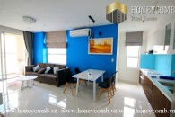 Two bedrooms apartment in Tropic Garden with nice style for rent.