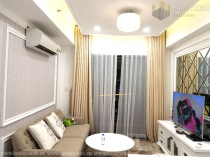 Masteri Thao Dien apartment low floor two beds for rent