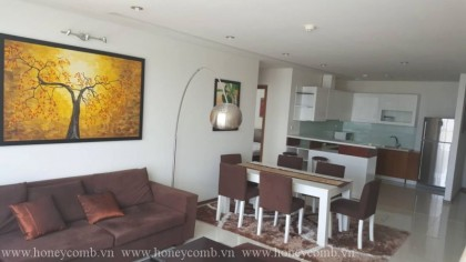 Three bedrooms apartment design modern in Thao Dien Pearl for rent