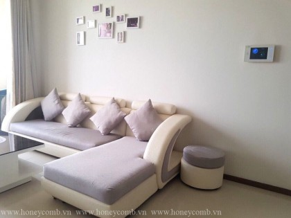 Two bedrooms apartment river view in Thao Dien Pearl for rent