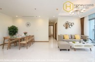 Commodious 3 bedrooms apartment in Vinhomes Central Park