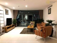 Lush contemporary 4-bedrooms apartment in City Garden for rent