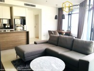 Wonderful 2 beds apartment with brand new in City Garden for rent