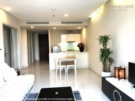 City Garden 1 bedroom apartment with low floor