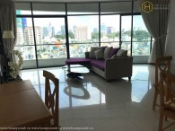Contemporary fully furnished 2 bedrooms apartment in City Garden