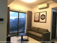 Open space contemporary 2 beds apartment in Masteri Thao Dien