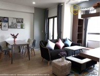 Excellent 2 beds apartment with beautiful furniture in Masteri Thao Dien