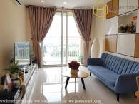 Pool view fully furnished 2 bedrooms apartment in Tropic Garden