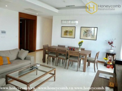 Fantastic 3 bedrooms apartment for rent in Xi Riverview