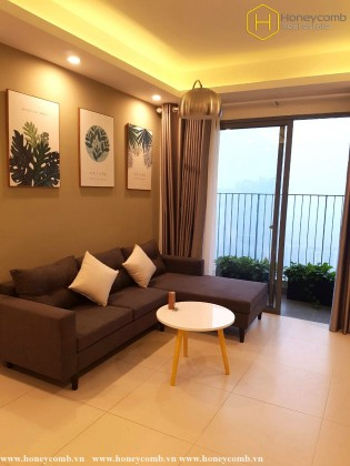 Brand new 2 beds apartment with Top floor in Masteri Thao Dien