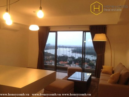 Delicate 3 beds apartment with river view in Masteri Thao Dien