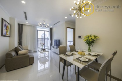 Nice spacious 1 bedrooms apartment in Vinhomes Central Park