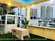 The airy and lovely 1 bed-penthouse at District 1