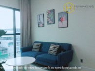Delicated and Modern with 2 bedrooms apartment in The Ascent Thao Dien