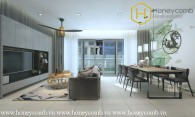 This 3 bedroom-apartment is really luxurious and delicate at The Estella Heights