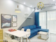 This 2 bed-apartment is designed for owners who loves young,dynamic, modern in design at Masteri An Phu