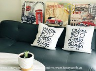 The creative 2 bed-apartment with retro style at Masteri An Phu