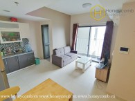 The 2 bed-apartment is both strong and masculine at Masteri Thao Dien