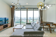 This 2 bed-apartment was designed for owners who love elegant and opulent design at The Nassim