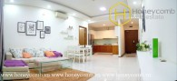 The 2 bedroom-apartment with minimalist style from Thao Dien Pearl