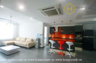 The colourful 3 bedroom-apartment with young design at Tropic Garden