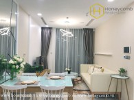 The 1 bedroom-apartment with fresh, modern and fashionable space at Vinhomes Golden River