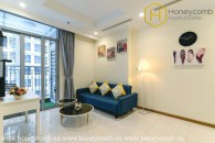 Sophistication and elegance are what this 1bed-apartment has at Vinhomes Central Park