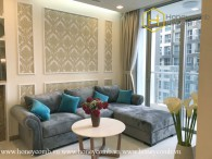 The 3 bed-apartment is very charming and fashionable at Vinhomes Central Park