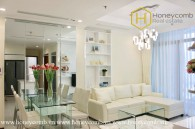 The 2 bedroom-apartment with bright and romantic style from Vinhomes Central Park
