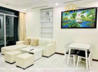 The 2 bed-apartment owned exquisite beauty in design at Vinhomes Central Park