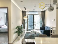 The fresh 2 bed-apartment with young design and perfect view at Vinhomes Central Park