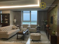 Sophisticated Style with 3 bedrooms apartment in Xi Riverview Palace for rent