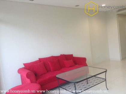 The colorful and simple 1 bedroom-apartment for lease at City Garden