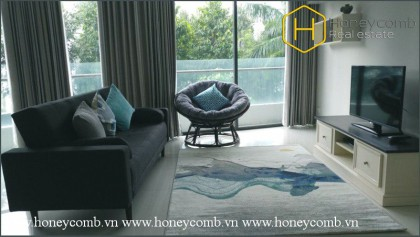 2 bedrooms apartment with nice view in City garden for rent