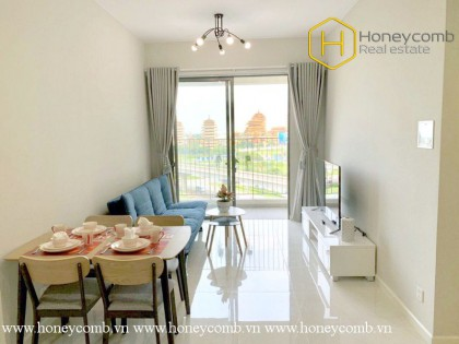 The bright 1 bed-apartment with natural beauty at Masteri An Phu