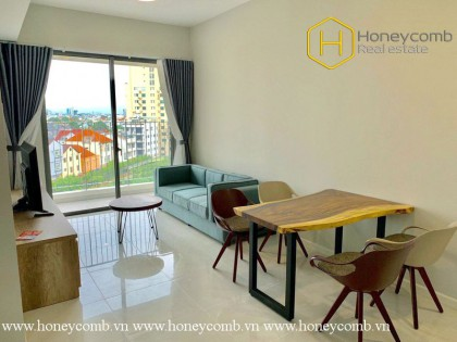 The rustic 2 bed-apartment with country style at Masteri An Phu
